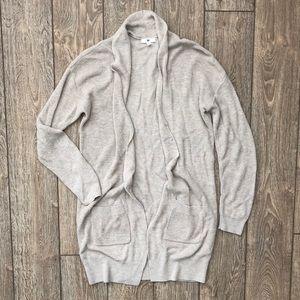 bp longline open front cardigan